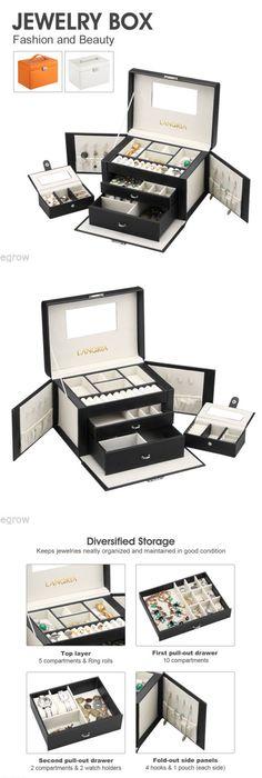 Jewelry Boxes 3820 New Authentic Pandora Travel Jewelry BoxStorage
