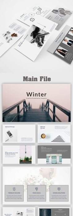 Beauty - Multipurpose Google Slide Presentation Templates - winter powerpoint template