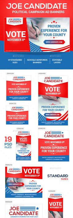 Political Campaign Poster Design Template By Stocklayouts
