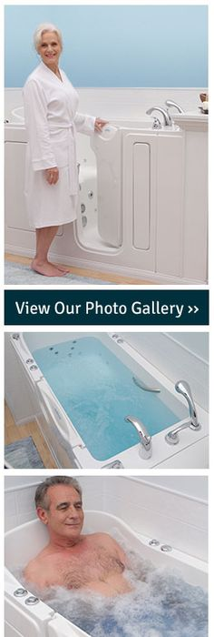 walk-in tub...I don\'t think it needs to be just for the handicapped ...