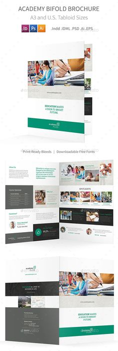 Martial Arts Trifold Brochure Template  Brochure Template