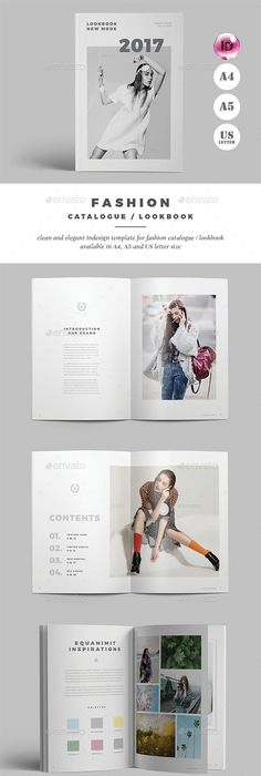 Product Catalog Template Indesign Indd   Unique Pages A