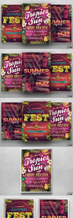 Fun Poster Templates 10 A4 Multiuse Business Flyer Bundleflyer Templates  Flyer .