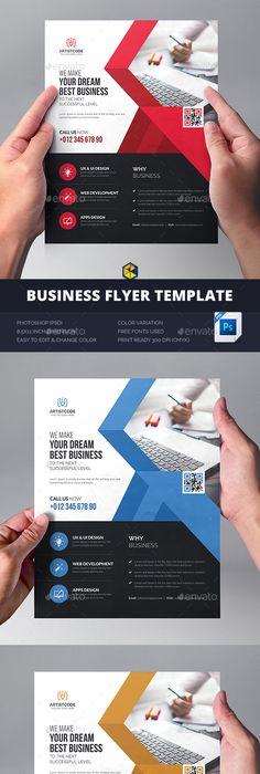 Creative Corporate Flyer Template PSD Flyer Templates Pinterest