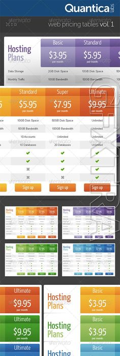 Here Are  Of The Best Designed Pricing Comparison Tables That
