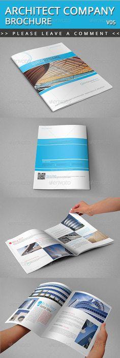 Architecture Brochure Template Verii Brochure Template Brochures