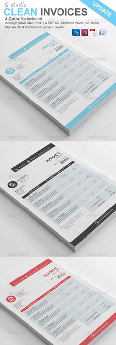 Proposal Template Suisse Design With Invoice On Behance  Document