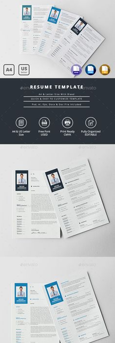 Freebie Resume  Cover Letter  Freebbble  Freebies