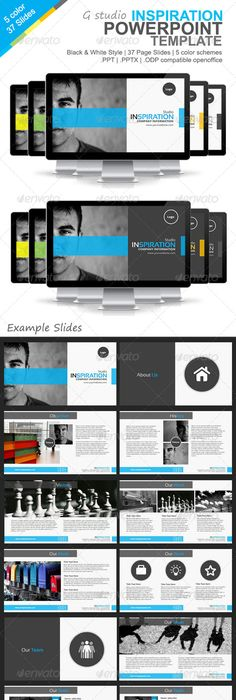 gstudio inspiration powerpoint template