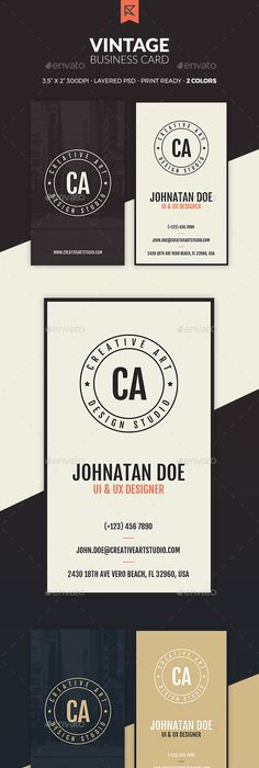 15 stunning business cards from famous people or companies vintage business card reheart Gallery