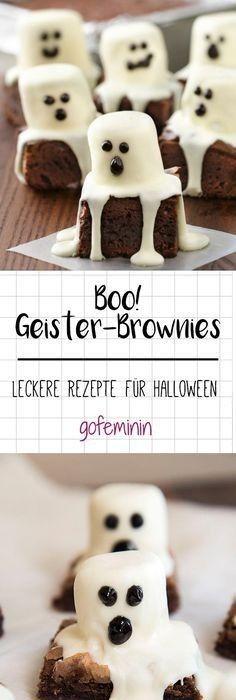 Halloween-Rezept: Gruselige Halloween-Cookies   Halloween rezepte ...