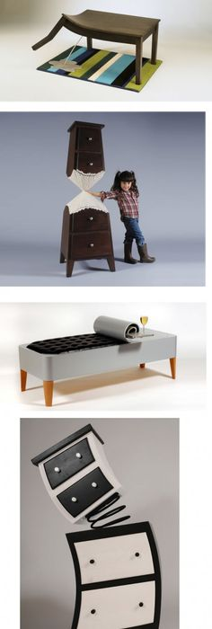 Ecological And Funny Furniture For Kids Bedroom By Hiromatsu | DigsDigs.  See More. Furniture Designers Are Some Of The Most Interesting People. Great Pictures