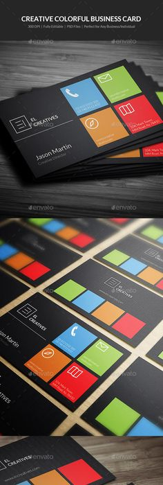 Rent a car business card business cards renting and business creative colorful business card 02 reheart Images