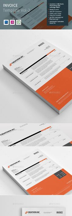 Pro Invoice Template Series - 01 Template, Proposal templates and - what is invoice