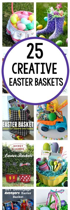 Creative unique easter basket ideas for kids crafty morning 25 creative easter basket ideas negle Image collections
