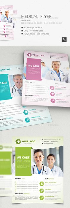 Obstetrics Medical Flyer Template 01 Flyer Template Medical And