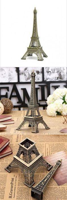 2pcs/lot Vintage Home Decor 18cm Multi Coloured Eiffel Tower Model Art  Crafts Travel Souvenir Wedding Gifts $20.9 | Vintage Home Decor | Pinterest  | Tower ...