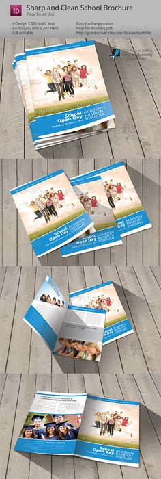 3x Trifold Brochure Bundle Brochures Indesign Templates And Template