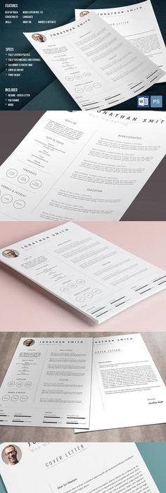 Resume/CV Resume cv, Template and Adobe