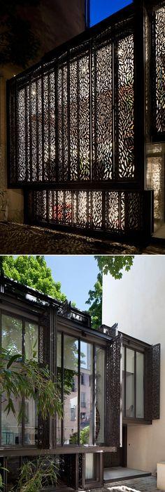 maison bois hqe marseille architectes contemporain - Quatre par dix - maison en beton coule