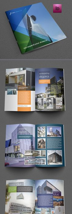 Architecture Brochure V04 Corporate Brochure Brochures And