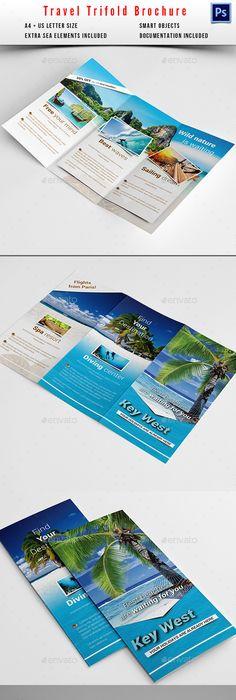 Travel Brochure Design   Alpine Swiss Trifold Brochure