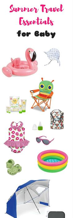 13 Summer Travel Essentials For Baby