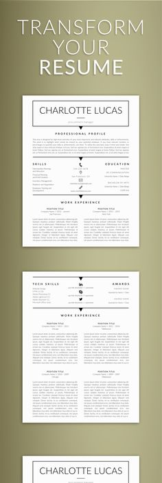 Templates For Resumes Word Simple Welcome To The Resumeexpert.etsy We Provide High Quality And .