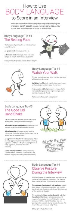 how to use body language to score big in a job interview firstimpressions mondaymotivation