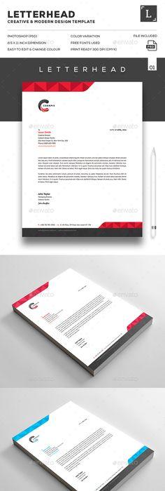 letterhead Designs Letter Head Designs Pinterest Letterhead design - copy business letter format template with letterhead