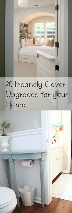 20 insanely clever diy home projects for your home