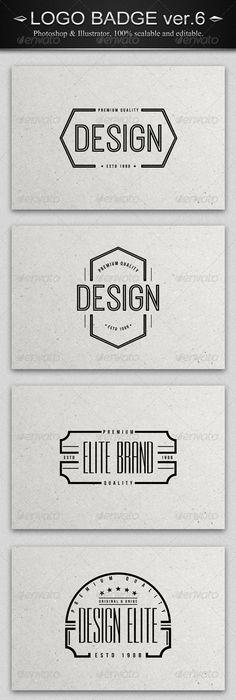3D Badges Pack | Badges, 3d and Badge logo