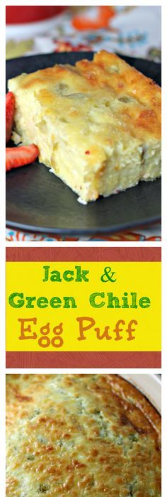 corn green chile egg and cheese casserole for breakfast or