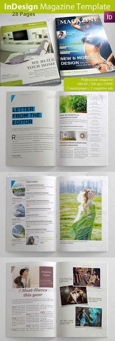 Gadgets Magazine Indesign Template | Gadget magazine, Indesign ...