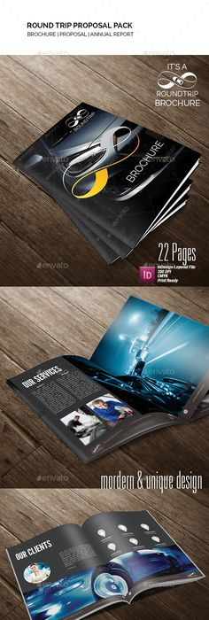 Agency Proposal Proposals, Proposal templates and Brochure template