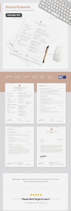 Food Server Resume Template  Professional Resume Template