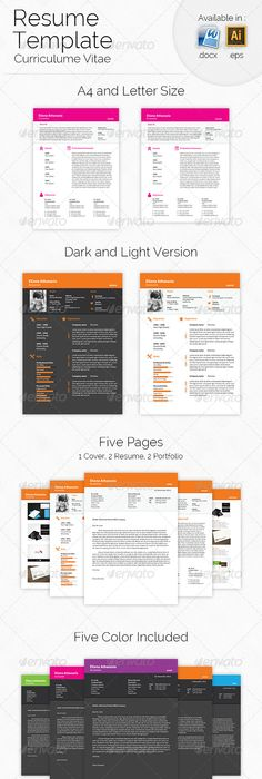 Resume Resume words, Cv template and Cv examples - resume 5 pages