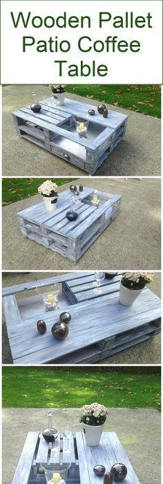 45 DIY massive Holzmöbel aus Paletten | Palettenmöbel, Gartenmoebel ...