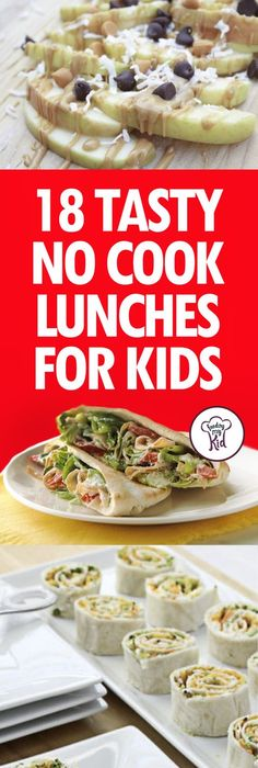 35 non sandwich lunch ideas salud y cocinas 18 tasty no cook lunches for kids weve got an amazing list of forumfinder Choice Image