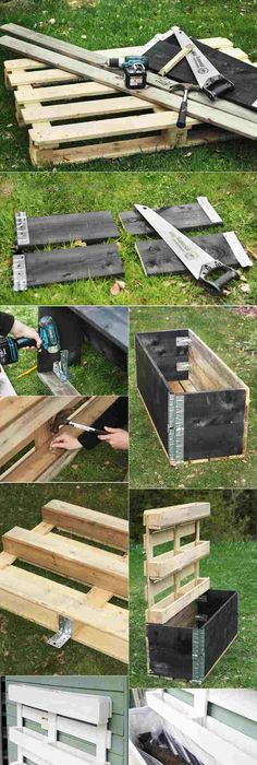 Awesome Ways of Reusing Old Shipping Pallets Wood pallets, Pallets