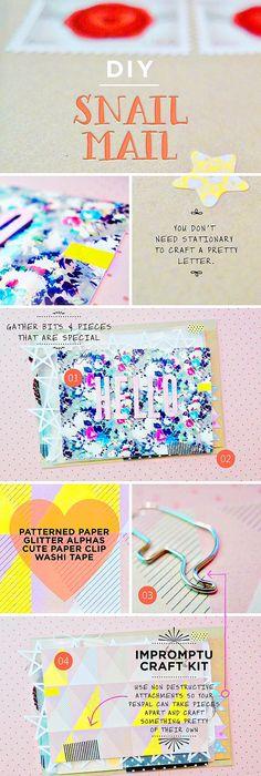 Pen Pals Letter Writing Kit Snail Mail Kit Snailmail Kit Letter