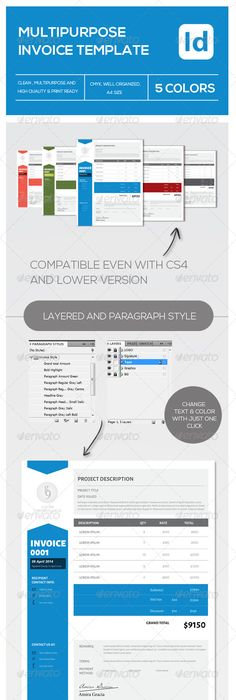 Pin By Meng Media Inc On Templates Invoices Pinterest Ui - Invoice package