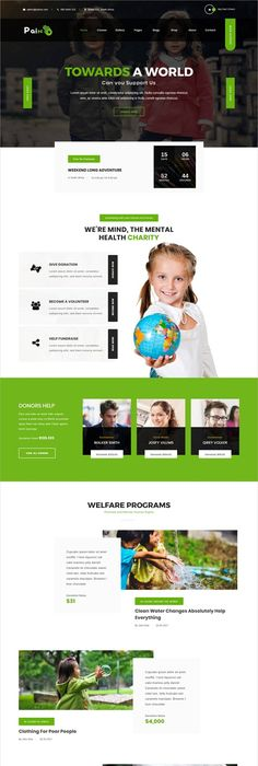buy pain charity fundraise non profit wordpress theme by jwsthemes on themeforest pain is an awesome charity and non profit wordpress theme