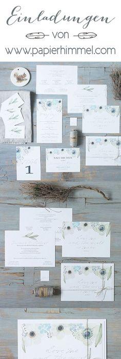 Hochzeitseinladung Rustikal aber edel Blog