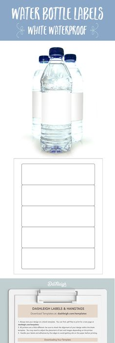 Free Party Printables For A Sports Themed Party  Water Bottle