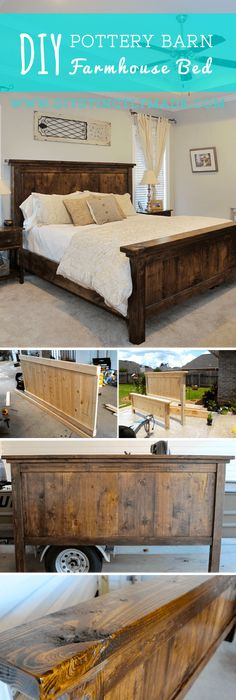 Ana White | Build a Mom\'s Fancy Farmhouse Bed | Free and Easy DIY ...