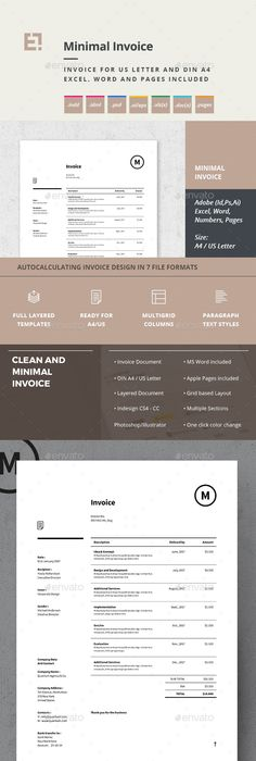 Invoice Like A Pro Design Examples And Best Practices Invoice - Commercial invoice template excel free download streetwear online store