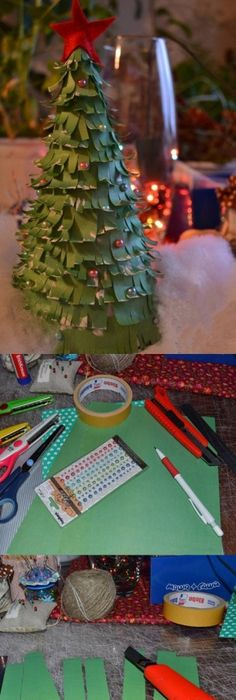 Diy colorful paper christmas tree diy projects creative native diy strips of papers christmas tree diy christmas easy crafts diy ideas diy crafts do it yourself easy diy diy photos christmas tree diy tutorials diy solutioingenieria Choice Image