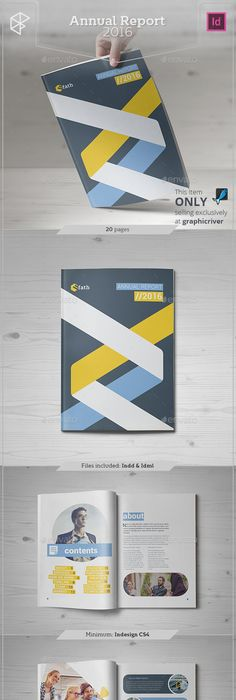 Geo Cover Concept  Annual Report Covers Annual Reports And Brochures