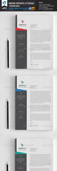 Company Letterhead Design Letter Template Sample  Letterhead